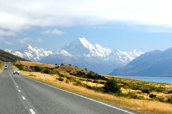 Aoraki Mount Cook from Mount Cook Road