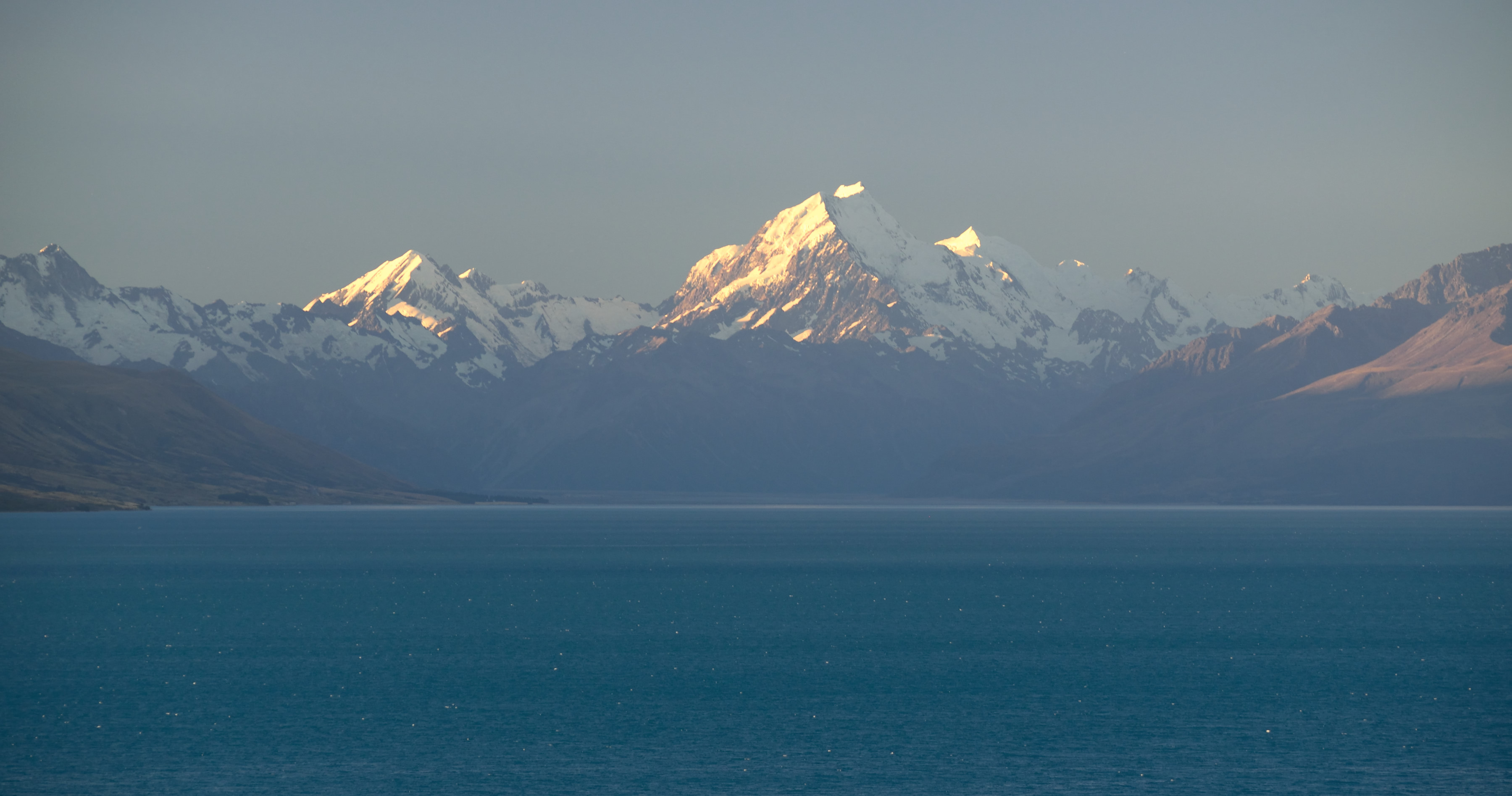 Aoraki Mount Cook from Pukaki
