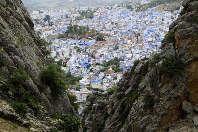 Chefchaouen blue city