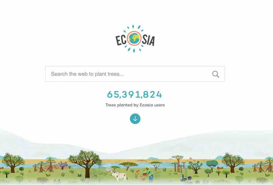 An Unbiased Review of Ecosia - Path Around The World